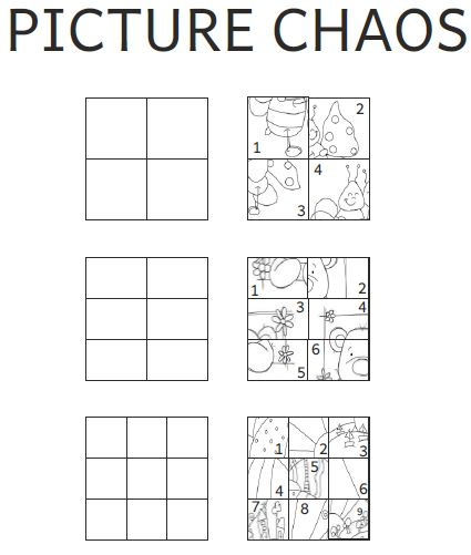 Printables Visual Perceptual Worksheets worksheets archives american dyslexia association more picture chaos
