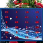 Christmas calendar, freebie, perception, dyslexia, dyscalculia, parents, worksheet